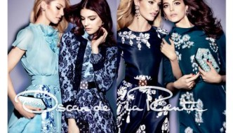 {Fashion} Oscar de la Renta Unveils Fall/Winter Campaign