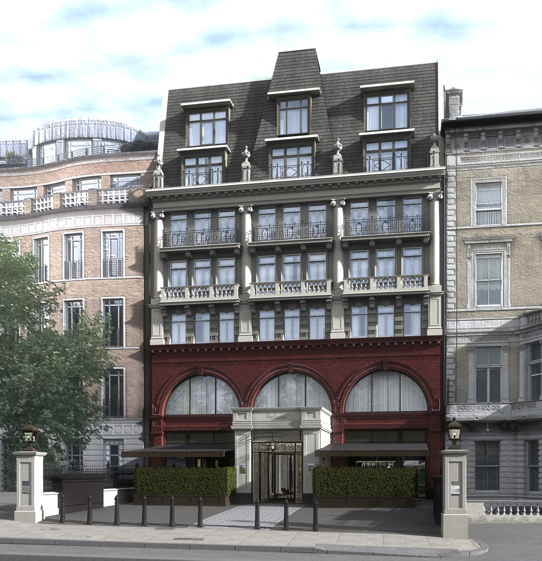 The new wellesley hotel in knightsbridge american girl for The knightsbridge