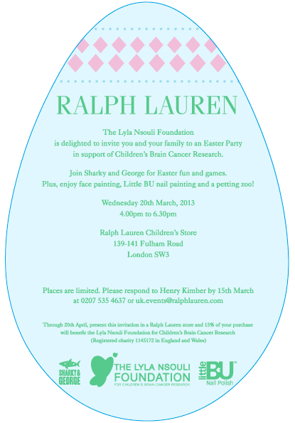 Ralph Lauren Easter Party, Fulham Road