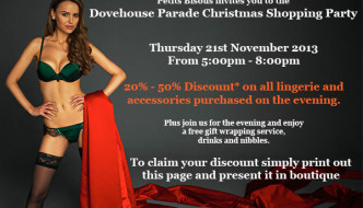 {Shopping} Petits Bisous Invites AG's to their VIP Christmas Shopping Party