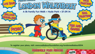 {A Date for Your Diary} The London WALKABOUT!
