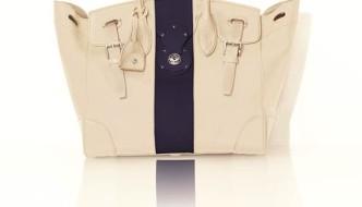 {Fashion} Ralph Lauren Creates The Wimbledon Soft Ricky Bag