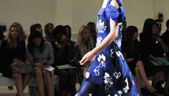 London Fashion Week SS15, Day Four, Snaps from Michael van der Ham