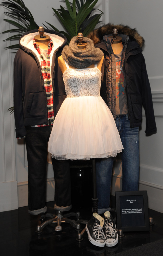 abercrombie kids and Great Ormond Street Hospital Childrens Charity event Photo by Dave Benett