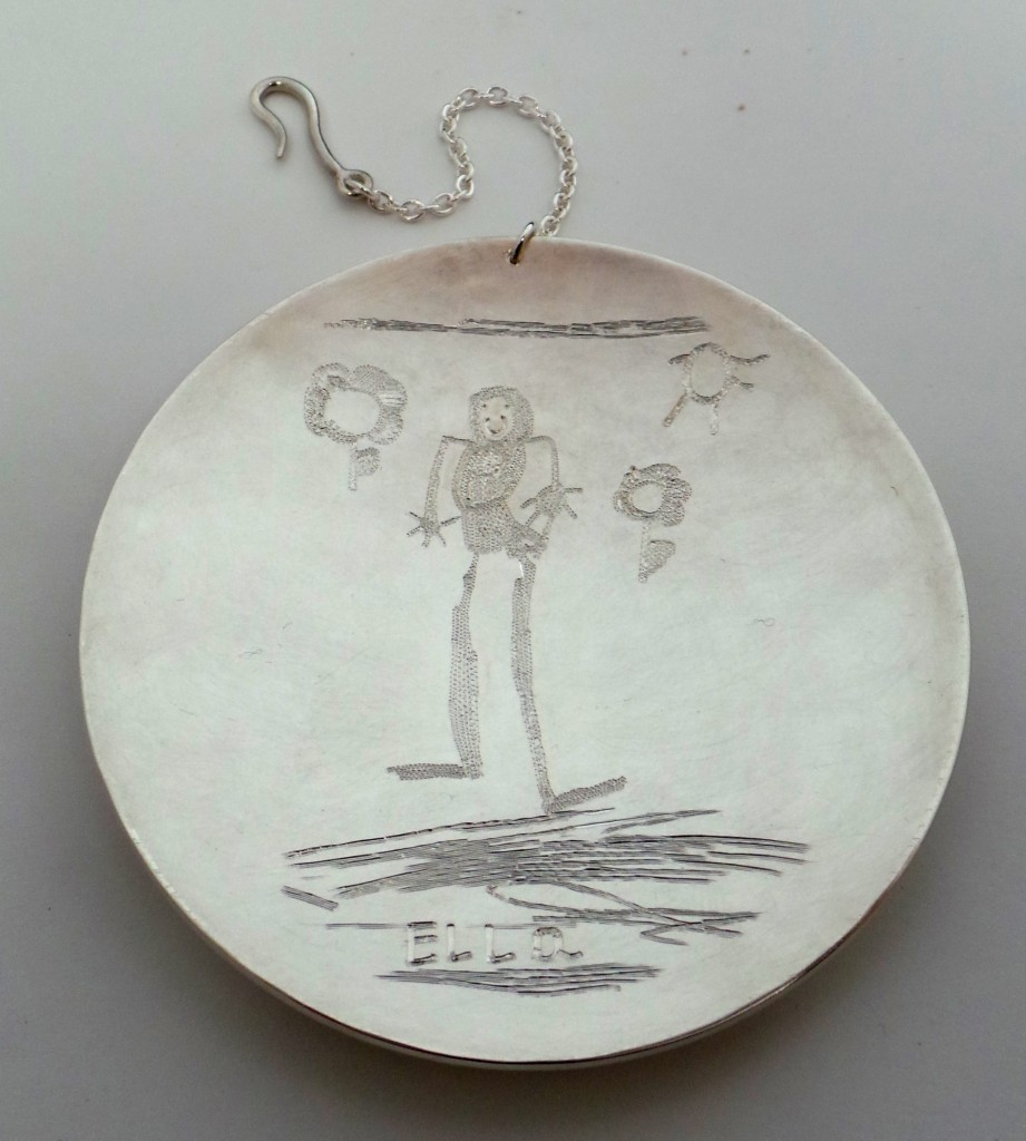 Christy Osbourne kids drawing engraved dish 02