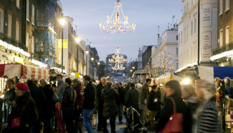 {Shopping/Eat & Drink} Christmas in Belgravia