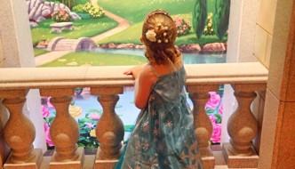 {Mummy & Me} Mini-AG's FROZEN Snow Queen Makeover at Disney's The Bibbidi Bobbidi Boutique, Harrods