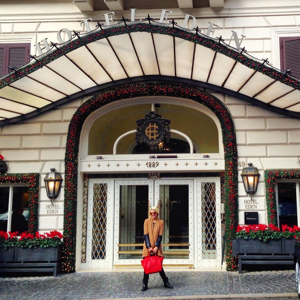 Travel An American Girl At The Hotel Eden Rome American