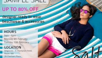{Shopping} Sample Sale Alert: Salt Resort Wear