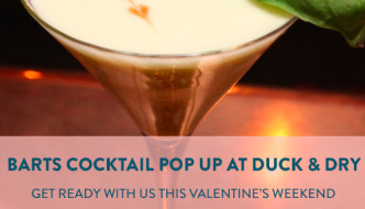 {Beauty} Prep for Valentines Day with Hair, Make-up and Cocktails at Duck and Dry