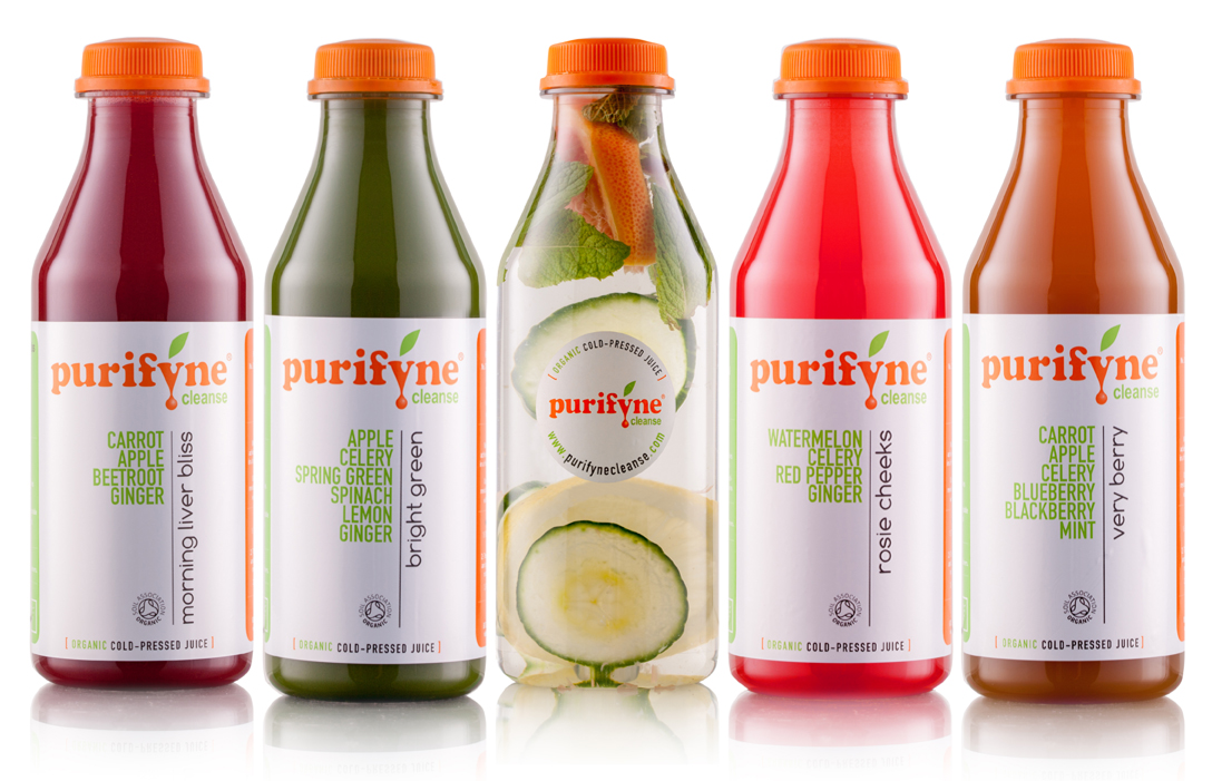 Purifyne Cleanse Juices - main image