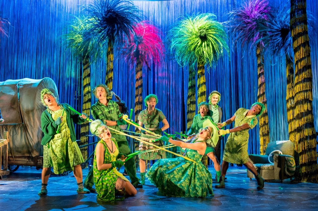 Cast image - The Lorax at The Old Vic. Photos by Manuel Harlan. (1)