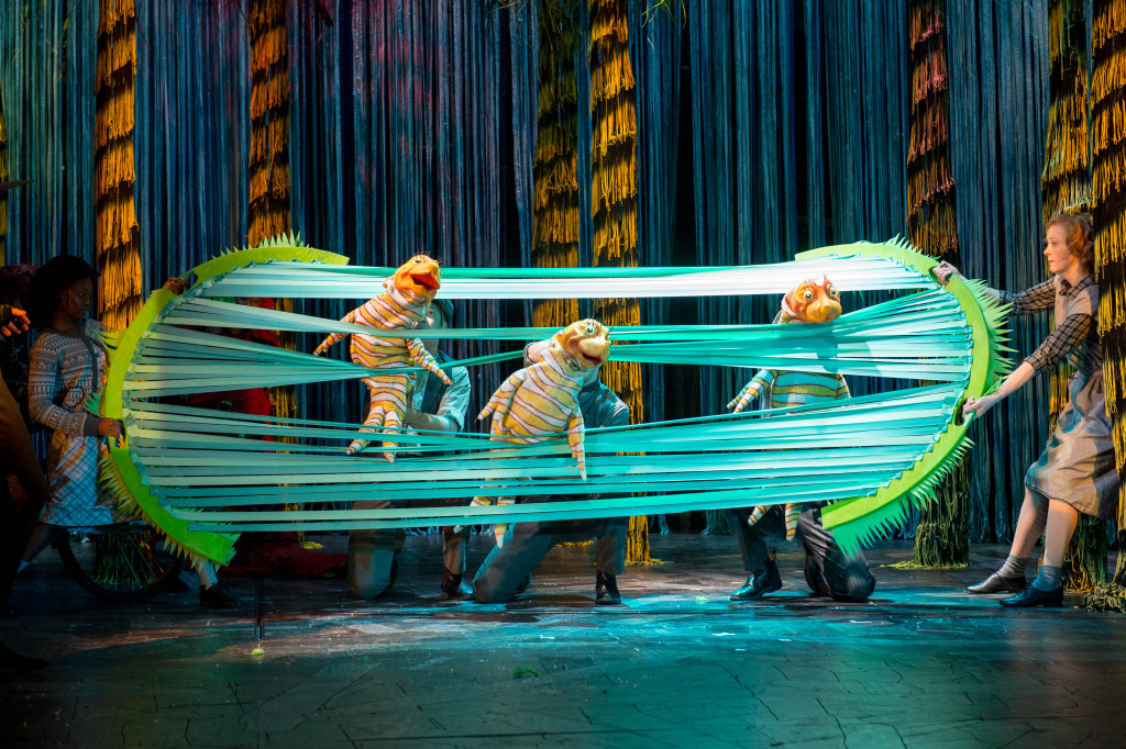 Ensemble - The Lorax at The Old Vic. Photos by Manuel Harlan.