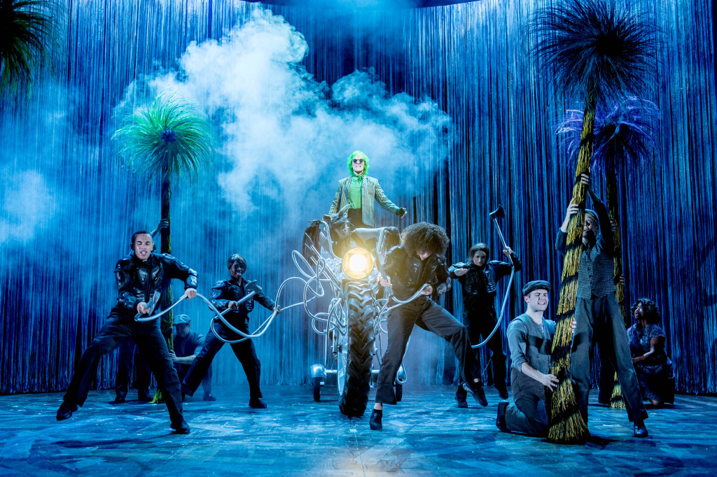 Simon Paisley Day (Once-Ler) and Ensemble - The Lorax at The Old Vic. Photos by Manuel Harlan. (2)