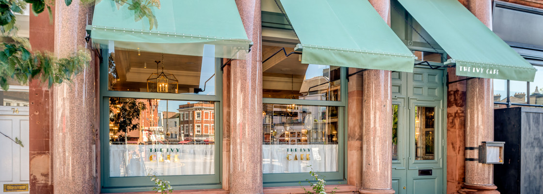 (Eat & Drink) The Ivy Café, Wimbledon Village, Opens Just in Time For Post-Tennis Cocktails