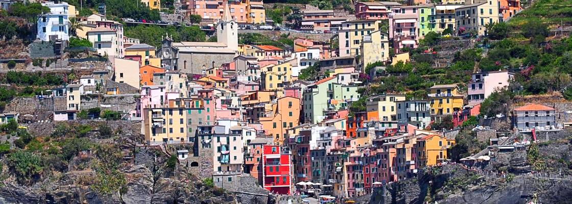 {Travel} Chilling in Cinque Terre