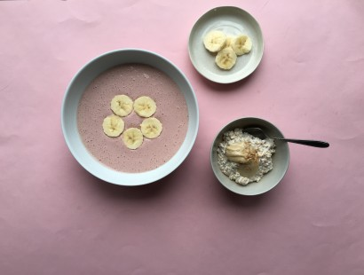 Smoothie Bowl and Bannana