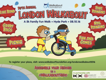 {A Date for your Diary} Join Me at the London Walkabout