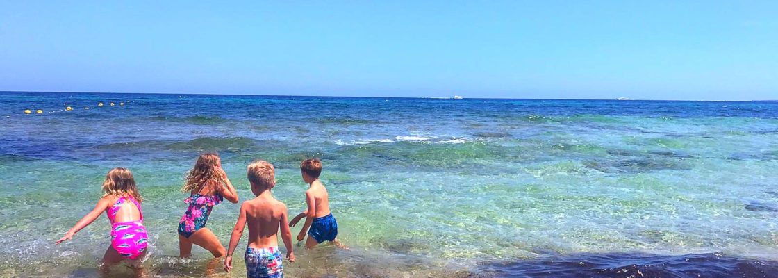 {Travel} I took my children to Ibiza